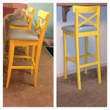 ikea hack diy wingback rocking chair ikea decora ikea hack 3 bar stools painted chalkpaint ikeahack furniture