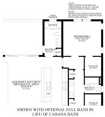 Cabana Plans With Bathroom Lakeshore Estates Collection The Bramante Home Design