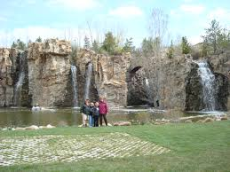 thanksgiving point made waterfall lehi utah image