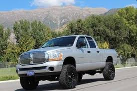 lifted 2006 dodge ram 1500 sell used 2006 dodge ram 1500 cab slt 4x4 lifted wheels tires