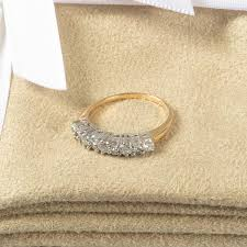 pre owned engagement rings 18ct gold vintage pre owned diamond ring and jewellery