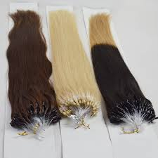 micro ring hair extensions wholesale best sell micro ring loop 100 human hair extension wj031