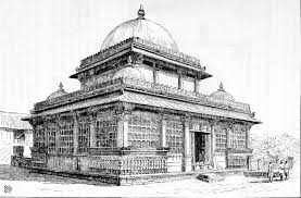 file rani sipri mosque ahmedabad sketch jpg wikimedia commons