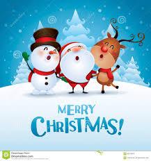 merry happy companions stock vector image