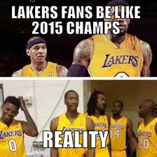 Lakers Meme - nba meme team on twitter lakers fans be like http t co