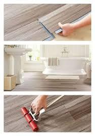 How To Install Vinyl Flooring In A Bathroom Waterproof Vinyl Wood Plank Floor Centsational Bathroom