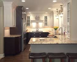 kitchen cabinets two tone painted kitchen cabinet ideas two