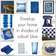 get the winter blues decorating with deep blue and indigo fresh