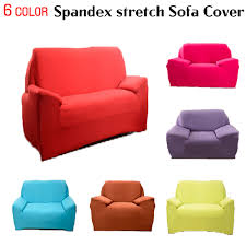 Easy Stretch Sofa Covers Aliexpress Com Buy Spandex Stretch Sofa Cover Big Elasticity