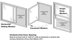 innovative bedroom window egress requirements proper egress
