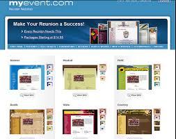 class reunions website myevent review for building a class reunion website
