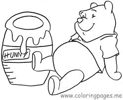 winnie pooh coloring pages bebo pandco