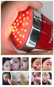 best handheld led light therapy device newest home skin care devices led light therapy anti aging handheld