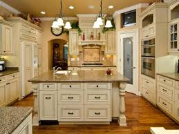 Old Fashioned Kitchen Cabinet Antique Finish On White Cabinets Nrtradiant Com