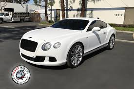 bentley custom satin white bentley vehicle wrap wrap bullys