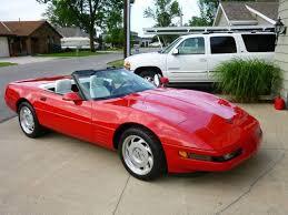 1992 Corvette Interior Buy Used 1992 Red Corvette With White Convertible Top U0026 White