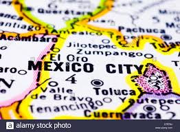 Mexico City Metro Map by Map Of Mexico City Stock Photos U0026 Map Of Mexico City Stock Images
