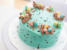 speckled easter eggs how to decorate a speckled chocolate easter egg cake recipe