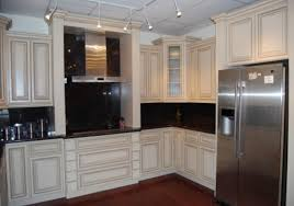 ceramic tile countertops antique white kitchen cabinets lighting