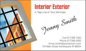 Business Cards Interior Design Business Cards For Interior Design