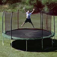 kid on trampoline kids backyard toys