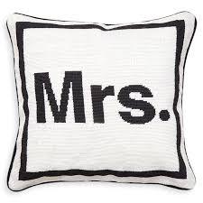 mrs needlepoint throw pillow 16 x 16 jonathan adler