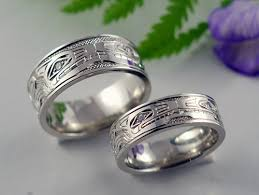 wolf wedding rings michael drechsler jewelry ltd wolf wolf wedding bands with