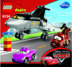 cars disney cars disney lego siddeley saves the day instructions 6134 cars