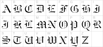 oldeng old english tattoo fonts old english fonts old script