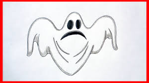 how to draw a ghost halloween stuff pictures characters youtube
