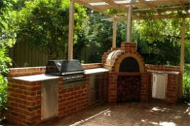 Brick Oven Backyard by Outdoor Clay Pizza Oven Wood Burning Rustic Liso Grill Stand Patio