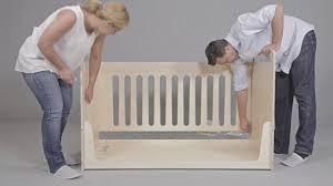 zoe assembly instructions crib bed desk youtube