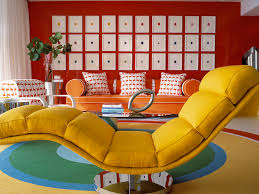Retro Style Living Room Furniture Blast From The Past Decorating In Retro Style For