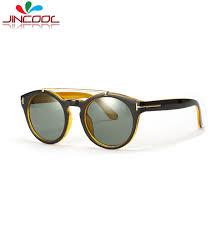 designer sonnenbrillen gã nstig jincool mode runde sonnenbrille 2017 marke designer sonnenbrille