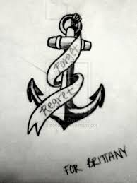 anchor with banner tattoo sketch pictures to pin on pinterest