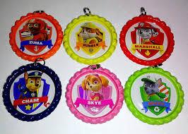 bottle cap necklaces bottle cap necklace keychain paw patrol nick jr party favor