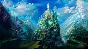 hd puzzle castle wallpaper