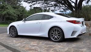 2015 lexus rc 350 f sport review 2015 lexus rc350 f sport exclusive 8 speed auto awd 4ws and