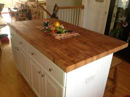 kitchen block island end grain butcher block island top made by anchor hardwoods