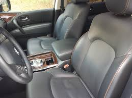 nissan armada 2017 seat covers review 2017 nissan armada platinum 4wd too much of a good thing