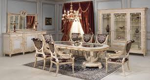 luxury classic dining room louis xvi white and gold vimercati