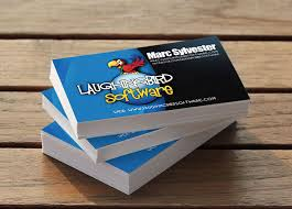 Business Card Template Software Logo Design Software The Logo Creator By Laughingbird Software
