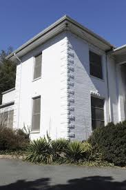 modern white nuance of high end cinder block house that can be