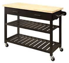 kitchen island trolley buy kitchen island trolley top with open shelves black