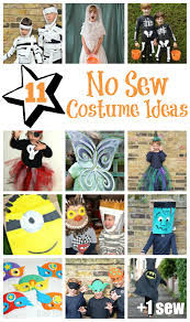 10 1 no sew costume ideas for kids and adults