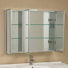 White Recessed Medicine Cabinet With Mirror Bathroom Cabinets Deerfield Bathroom Medicine Cabinets