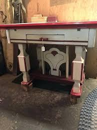 mid century kitchen table vintage kitchen table vintage enamel top mid century kitchen table