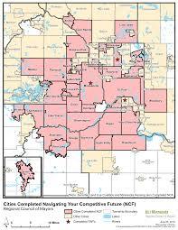 Minnesota On Map Navigating Your Competitive Future Uli Minnesota