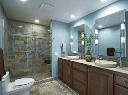 rough stone wall tile light blue wall paint smooth stone pebble