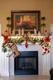 holiday decorating fireplace ideas mantel christmas photos without